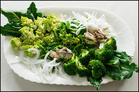 茹で野菜のサラダ