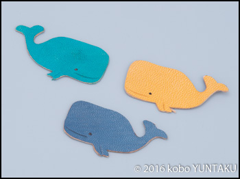 マッコウクジラのリングキーホルダー