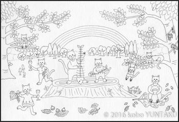 猫の森の音楽会