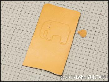 革小物 子象のコインケース