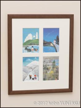 谷内六郎のポストカード