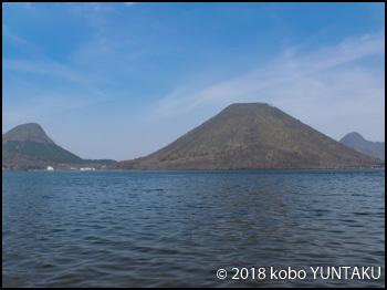 榛名湖から見た榛名富士