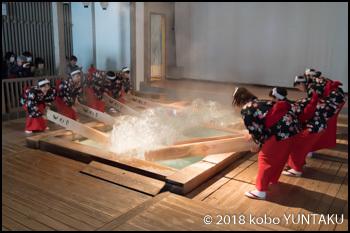 草津温泉 熱乃湯「湯もみと踊り」ショー