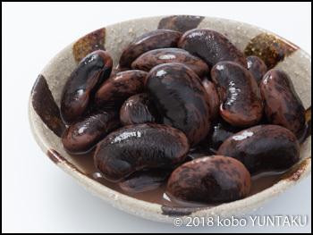 花インゲン豆の甘煮