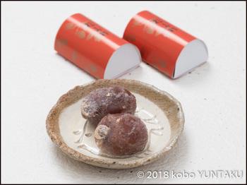 菓子舗「間瀬」の福寿柿