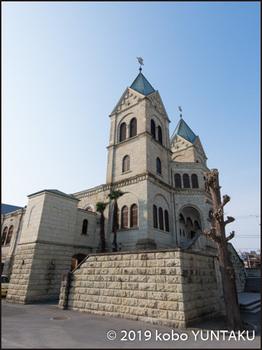 双塔の「松が峰教会」
