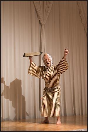 第6回泡盛文化の会黒島の芸能「山崎のアブジェーマ」(関東黒島郷友会)