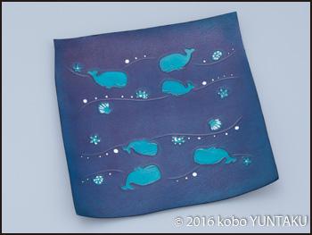 マッコウクジラの長財布