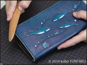 イルカ(いるか)の長財布