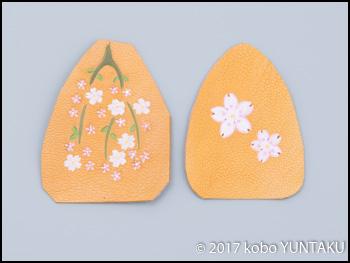 桜の携帯アクセサリー
