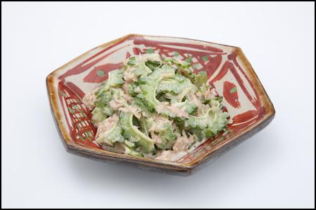 ツナ入りゴーヤサラダ(ゴーヤーサラダ)