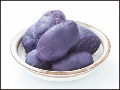 紫のジャガイモ/シャドークイーン